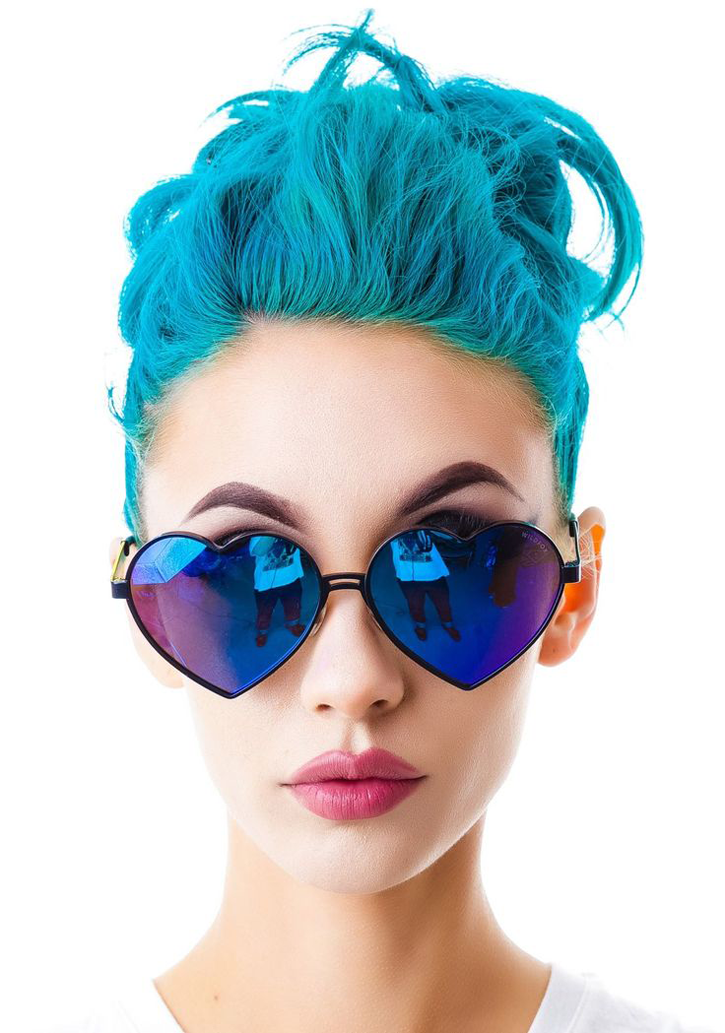 Wildfox sunglasses unicorn hair
