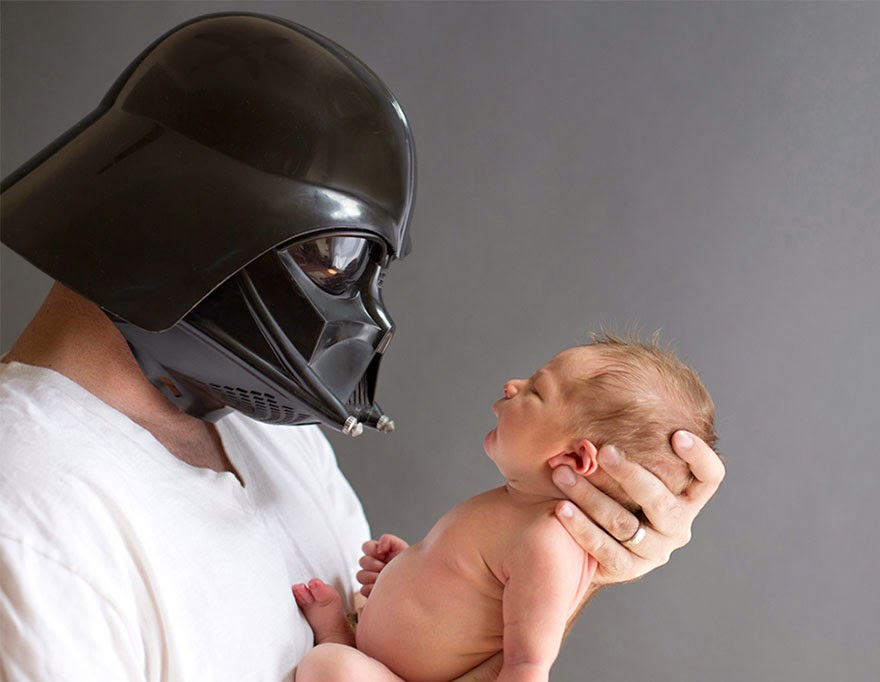 #22 Baby Luke - 22 Geeky Newborns Who Are Following In Their Parents' Nerdy Footsteps