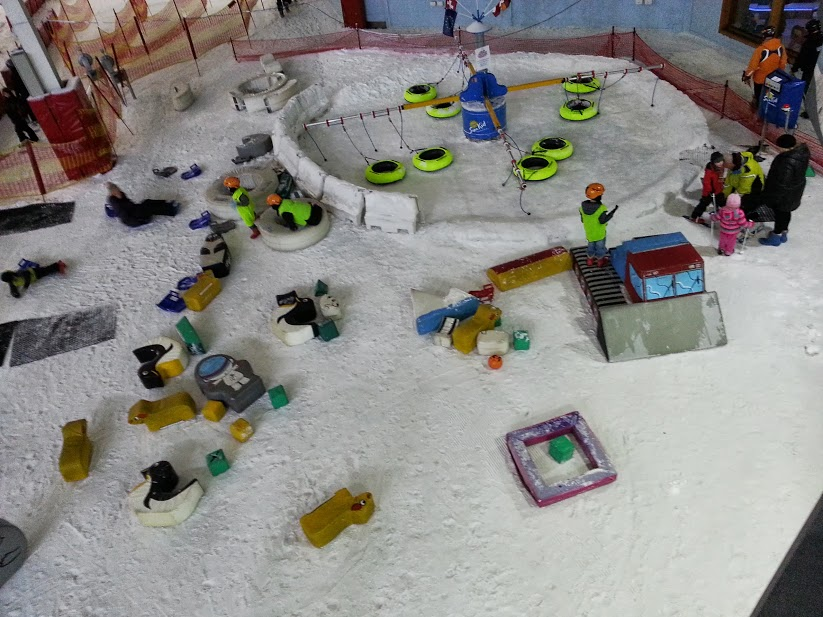 The Brick Castle: Chill Factore Snow Play Party