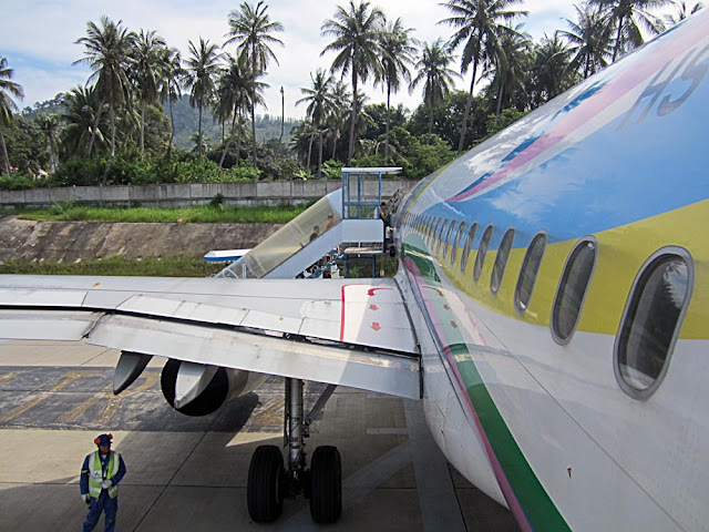 body of aircraft with wing