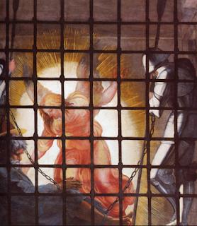 Peter's angelic jail break - Artist Unknown