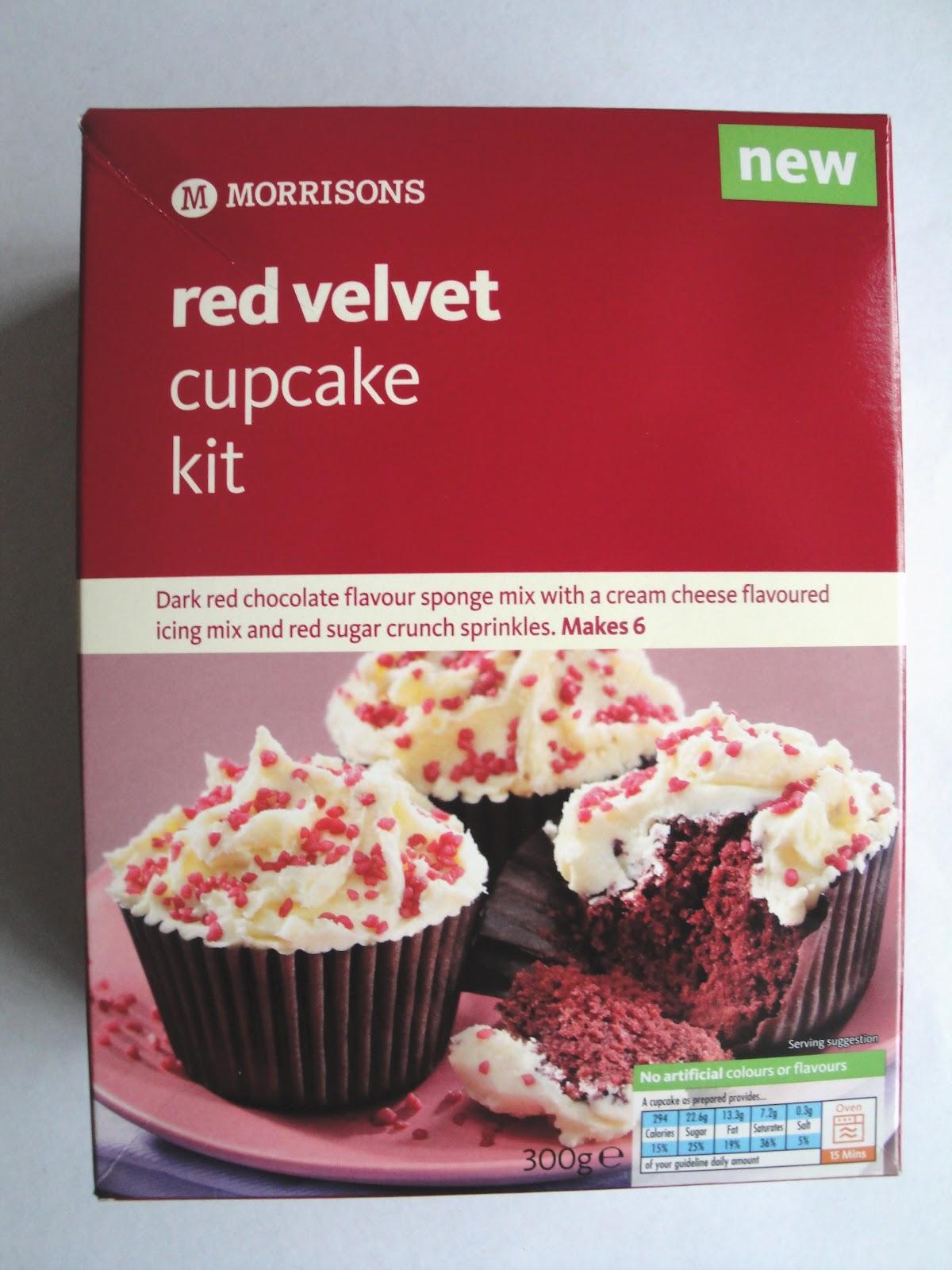 Grocery Gems Morrisons Red Velvet Cupcake Kit 163 1 39 At