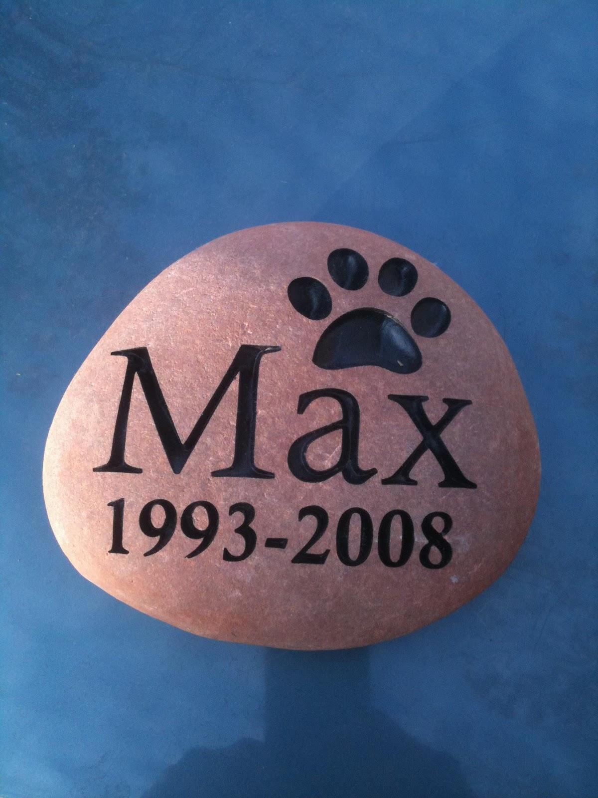stone creations northwest simple pet memorial stones