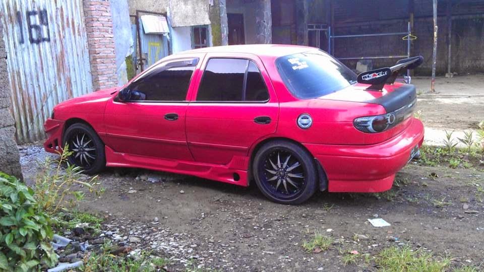 Modifikasi Kecil Kecilan Mobil Timor Warna Merah D Cekidot
