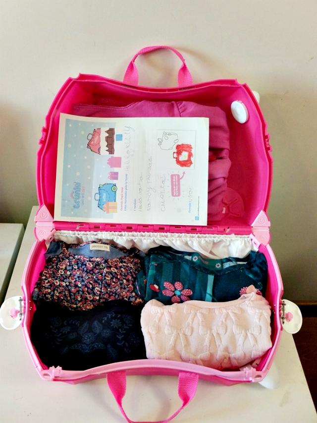 Hemos probado: maleta Trunki Hello Kitty - Blog infantil Mama de Noa