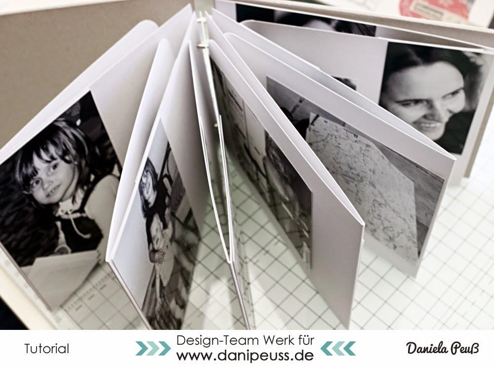 MitmachMontag Tutorial Journaling und Minialbum von Dani Peuss für www.danipeuss.de