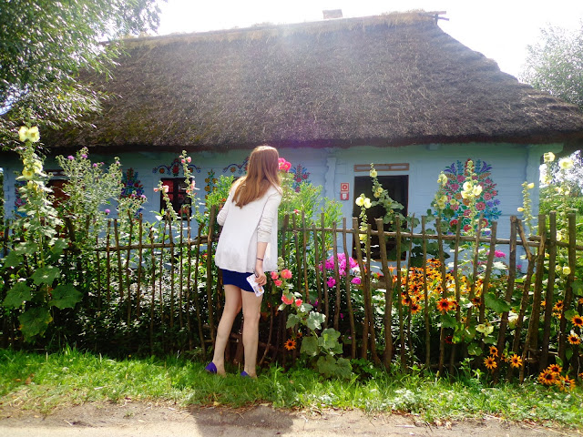 zalipie, malowany dom, wieś, na wsi, sielsko