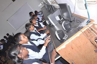 KMC Public School Tirupur Computer Lab