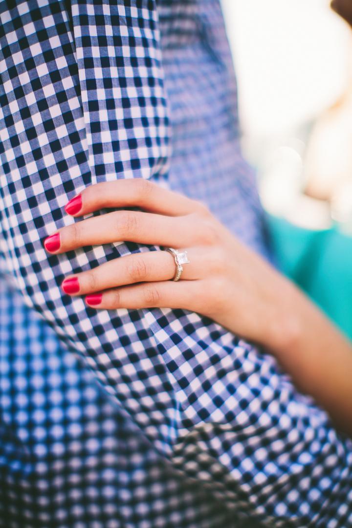 ring shot, engagement ring, santa cruz