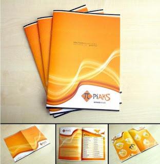 Một mẫu thiết kế catalogue
