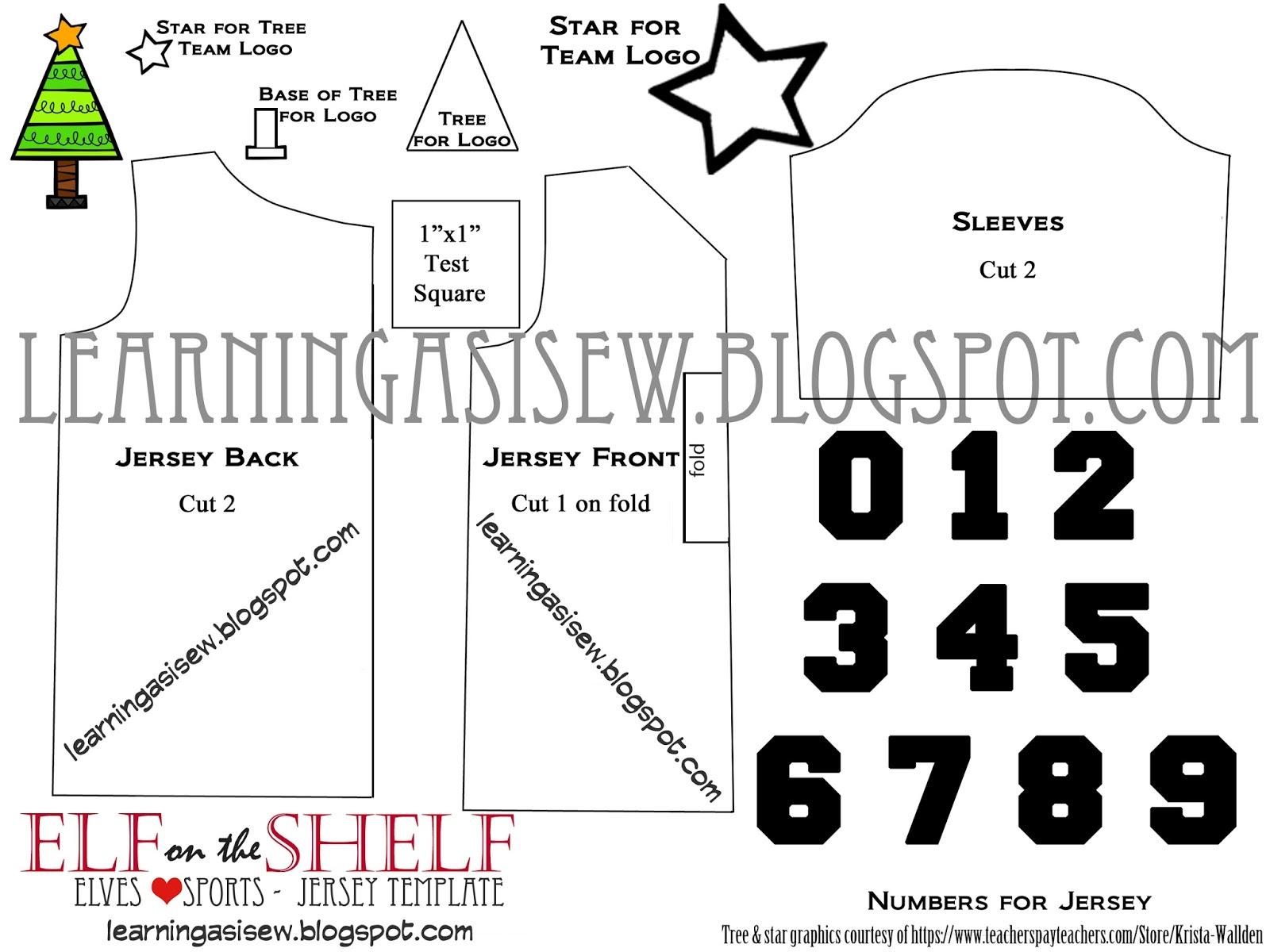 elf shirt template printable agcrewall