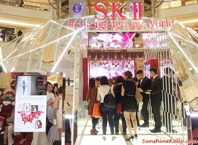 Change Destiny World Tour, SK-II, Radical New Age,  SK-II R.N.A. Power, SK-II R.N.A. Power Essence, Suria KLCC, Pitera, Facial Treatment Essence, Change Destiny Journey, Radical New Age journey