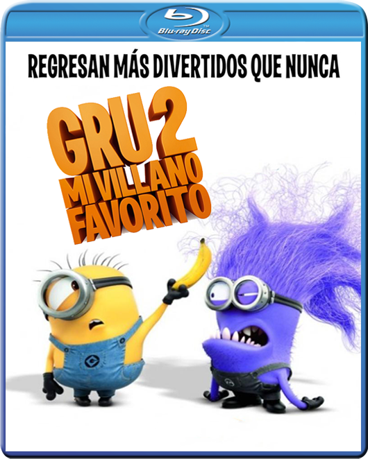 Gru 2: Mi villano favorito (2013) BDRip 1080p ONLINE