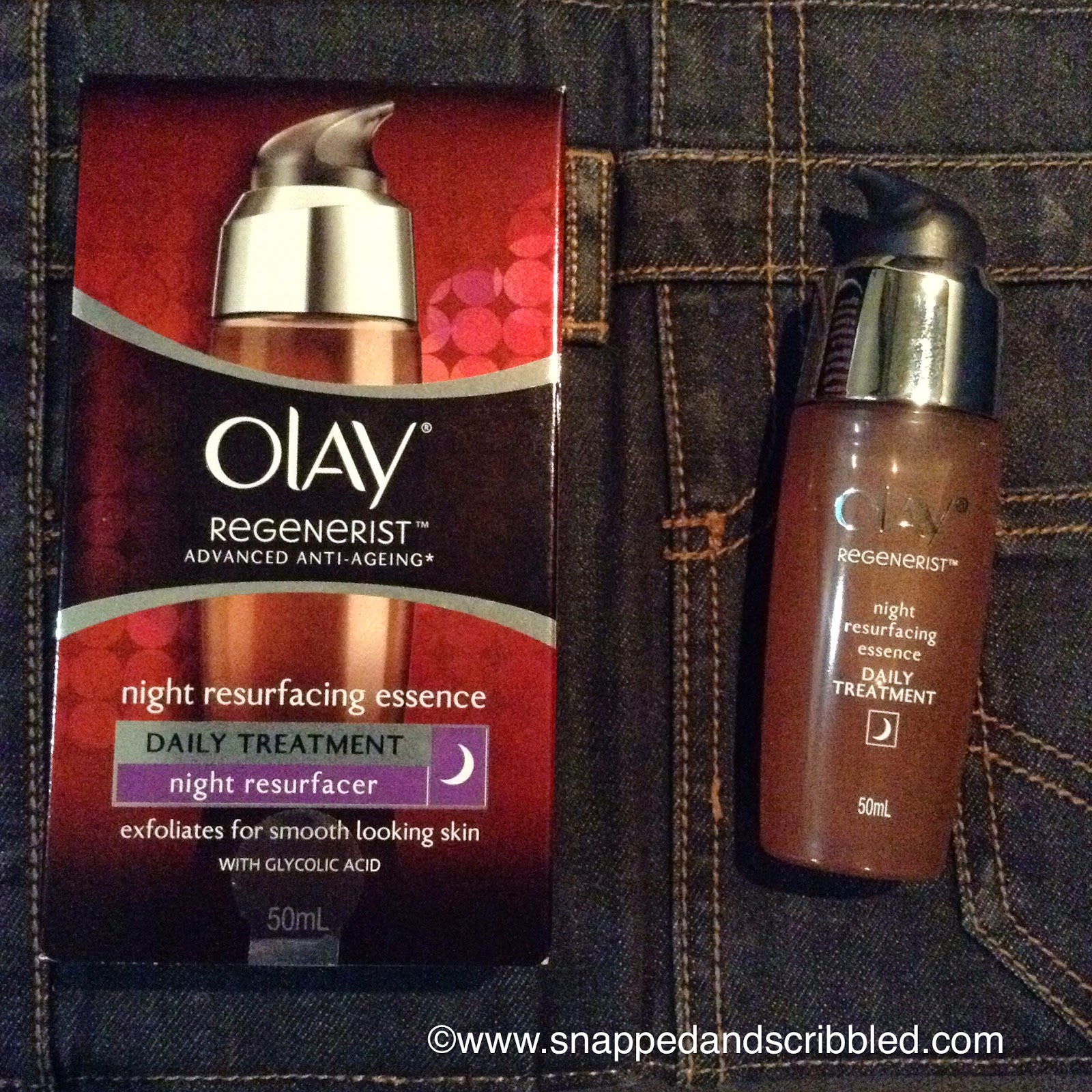 What Beauty Product To Try: Olay Regenerist Night Resurfacing Essence
