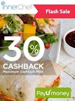 Get 30% cashback. Maximum cashback Rs 100 from Payumoney: Buytoearn