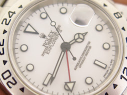 ROLEX EXPLORER II WHITE POLAR DIAL 40mm - ROLEX 16570 SERIE U YEAR 1998 - AUTOMATIC CAL 3185 - GOOD