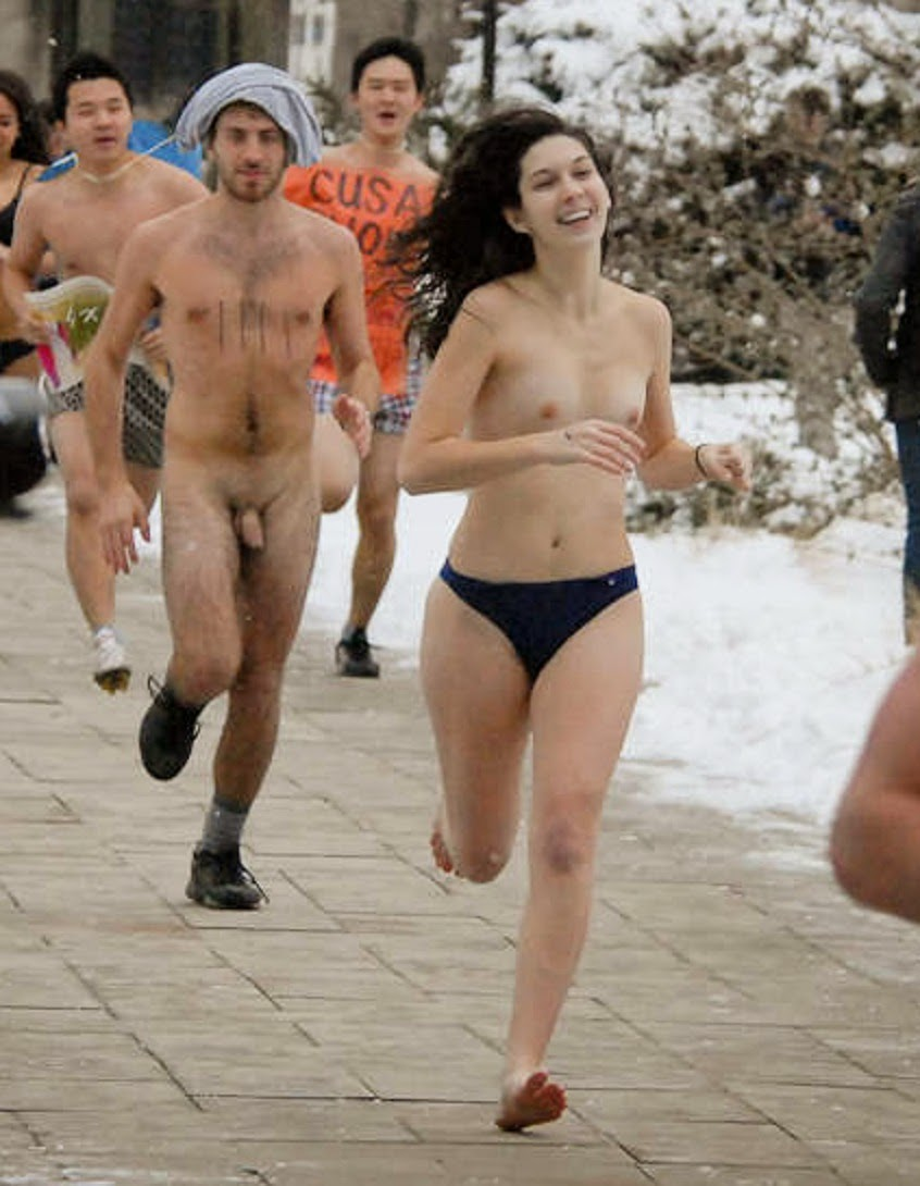 polar bear plunge nude girls