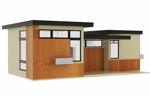 Plano de casa peque a 50 metros cuadrados - Casas de 50 metros cuadrados ...