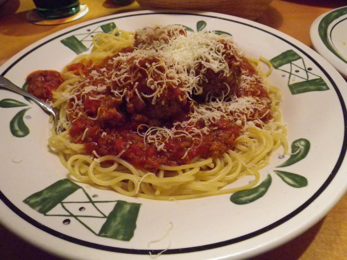 That food guy olive garden albuquerque new mexico - Olive garden spaghetti and meatballs ...