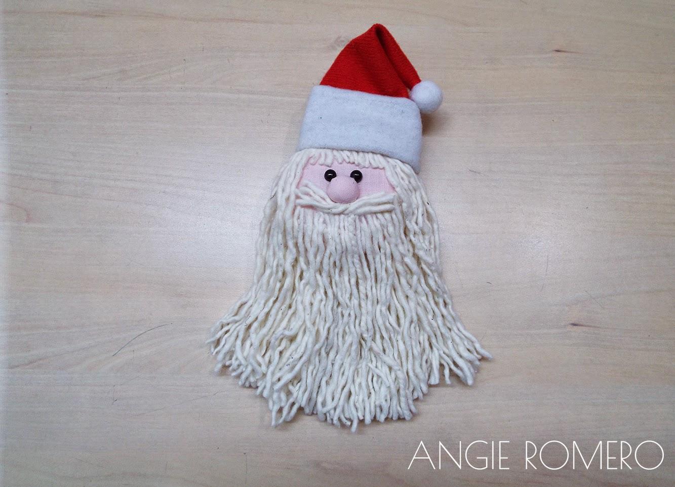 Papa Noel decoración navideña