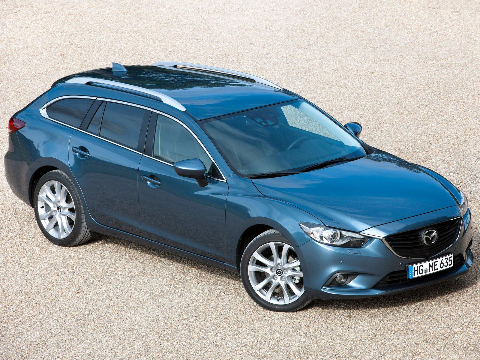 2005 Mazda 6 Wagon Facelift – XXI Century Cars