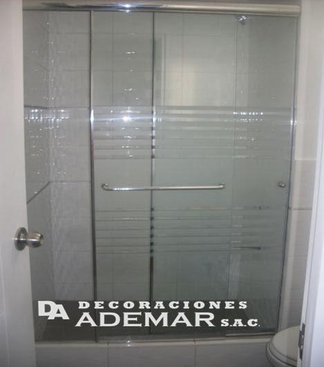 Cortinas De Baño En Vidrio Templado:puertas de duchas, pisos laminados,cortinas roller