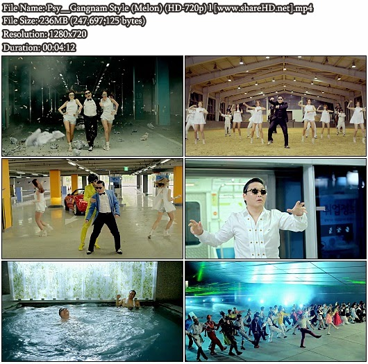 Download MV Psy - Gangnam Style (Melon HD 720p)