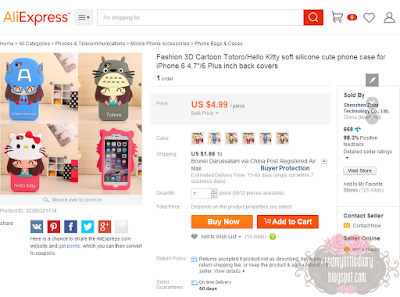 Review Shopping di Aliexpress.com