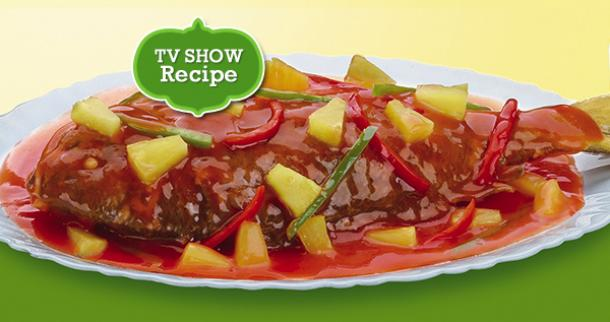 Piña-Level Up Sweet N' Sour Fish Recipe