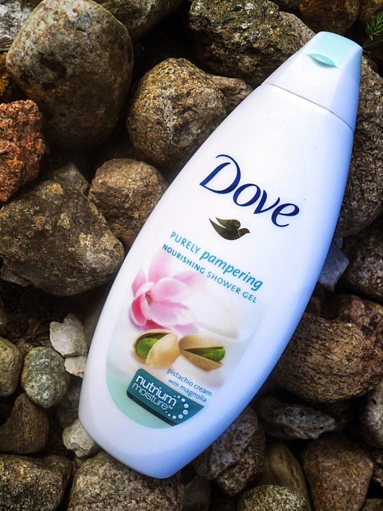 Żel pod prysznic DOVE Purely Pampering z kremem pistacjowym i magnolią