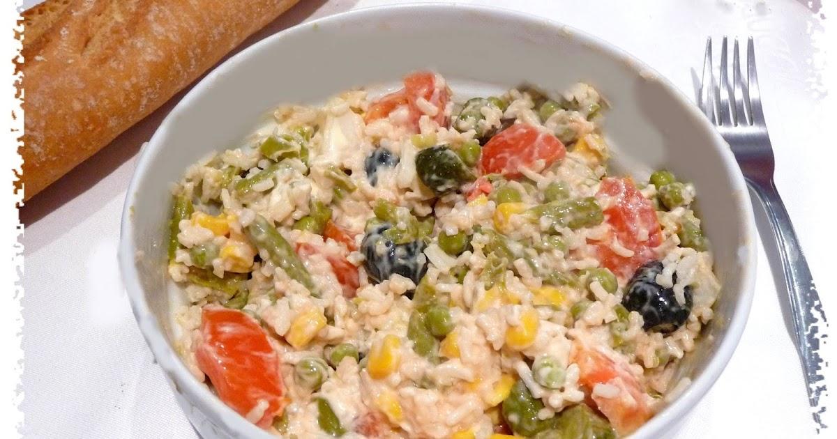 Recetas light adelgazaconsusi ensalada de arroz con - Ensalada de arroz light ...