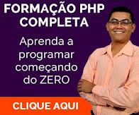 Formação PHP Completa