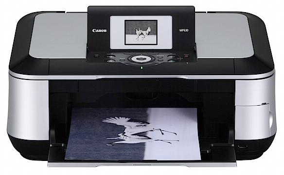 Canon Pixma MP630 Printer Free Download Driver