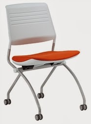 Folding Guest Chair by Eurotech