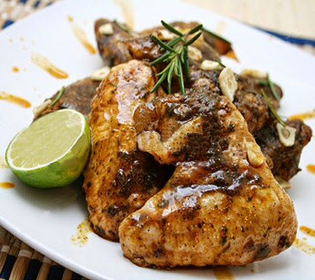 Spicy Garlic Lime Chicken Recipe | Food online