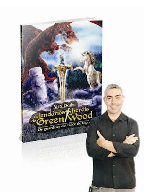 Livro Os lendários heróis de Green Wood - Os guardiões do cálice de fogo.