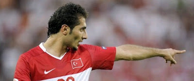 Hamit Altintop in Turkey jersey