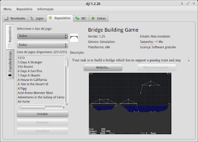 DJL - Gerenciador de games Open Source