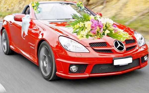 Cho thuê xe cưới Mecedes CLK320,Xe cưới mui trần Mecedes CLK320