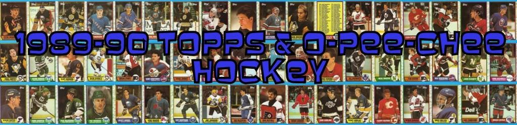 1989-90 Topps & O-Pee-Chee Hockey