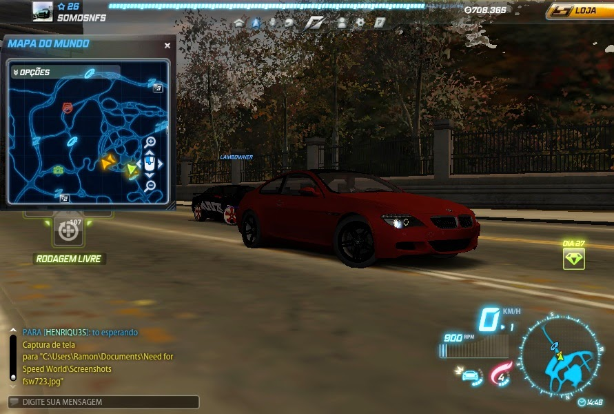 NFS World Red BMW M6 Ghost