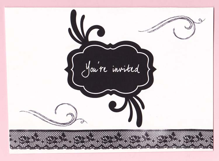 amazing party invitation template word design which you need to make