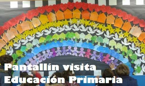 Pantallín visita Educación Primaria
