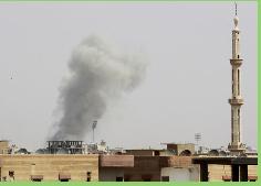 Ejército sirio lucha con yihadistas por el control de aeropuerto en el norte del país