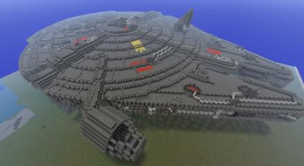 Nave Minecraft