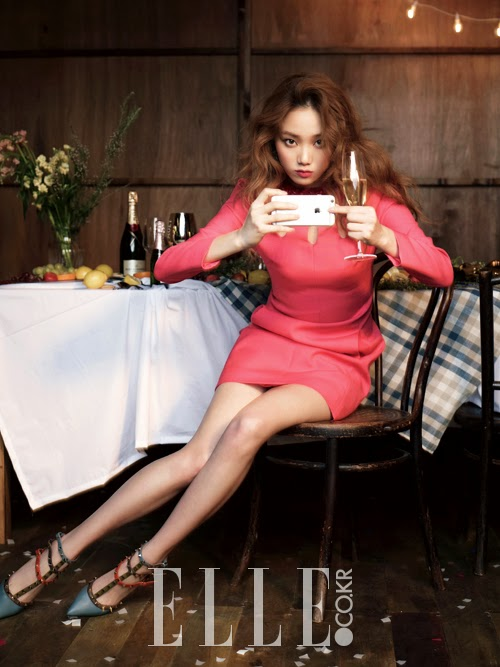 Lee Sung Kyung Elle December 2014