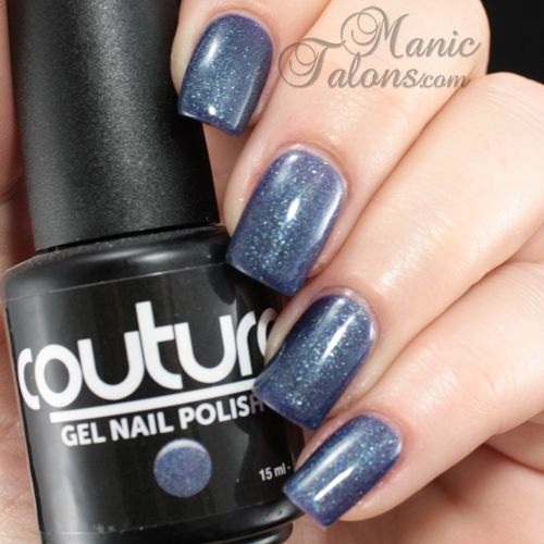 Couture Gel Polish Vintage Denim Swatch