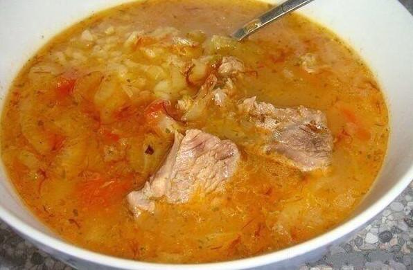 Грузинский суп-харчо - пошаговый классический рецепт