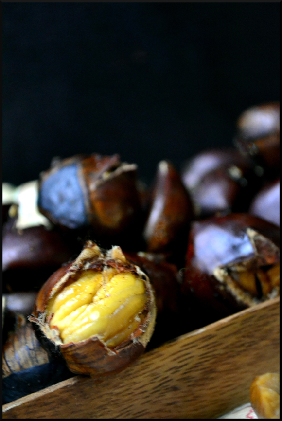... Ardent Epicure: What's for snack time? Spicy Oven Roasted Chestnuts