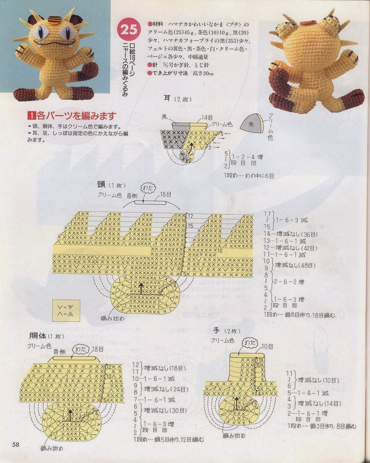 Blog de Goanna: Munecos Pokemon en Amigurumi